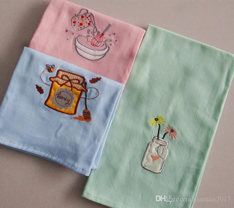 kitchen napkins crosley alexandria island 2019 common mat plain and fresh cloth high quality embroidered cotton table cartoon home towels coasters towel from