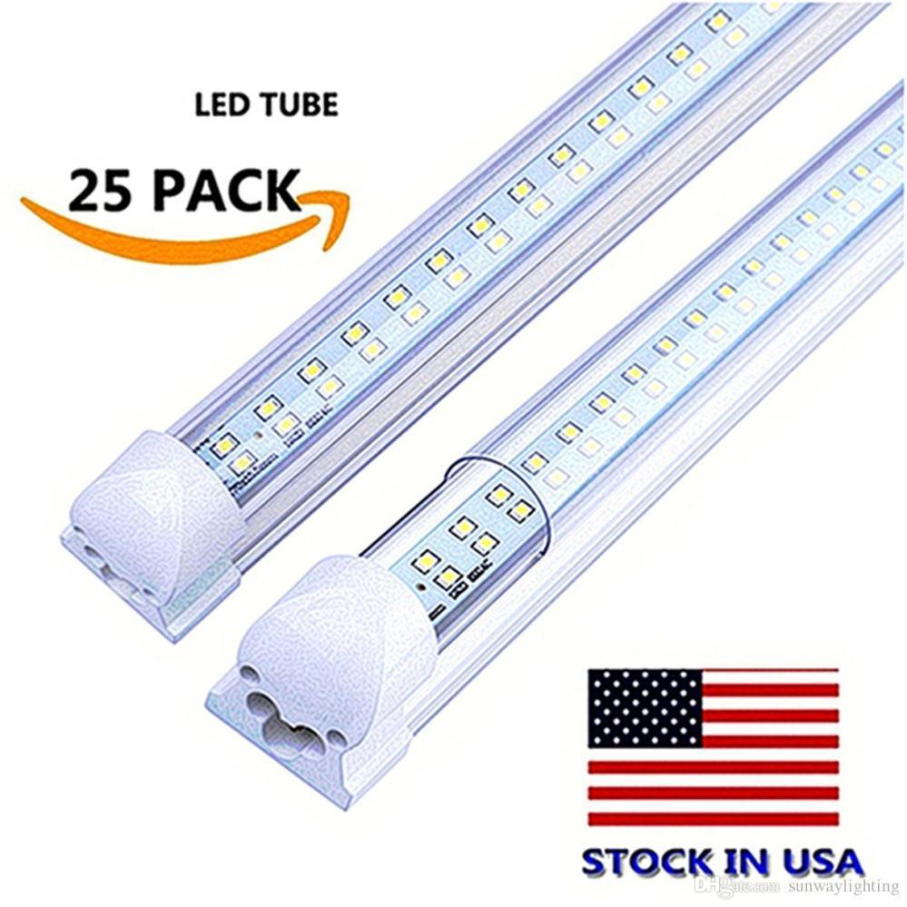 medium resolution of  row integrated led light bulbs 18w 28w 36w smd2835 led lights 85 265v fluorescent lighting lamps led tube light bulbs led tube light circuit diagram