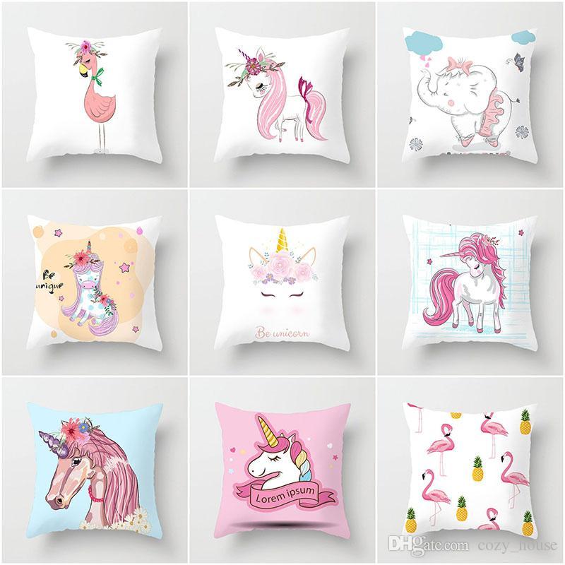 unicorn pillowcase printed pillow