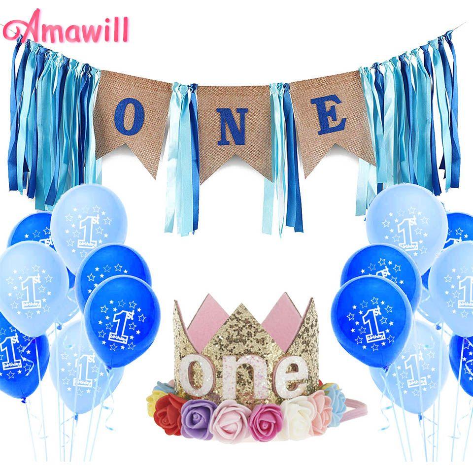 amawill first birthday boy