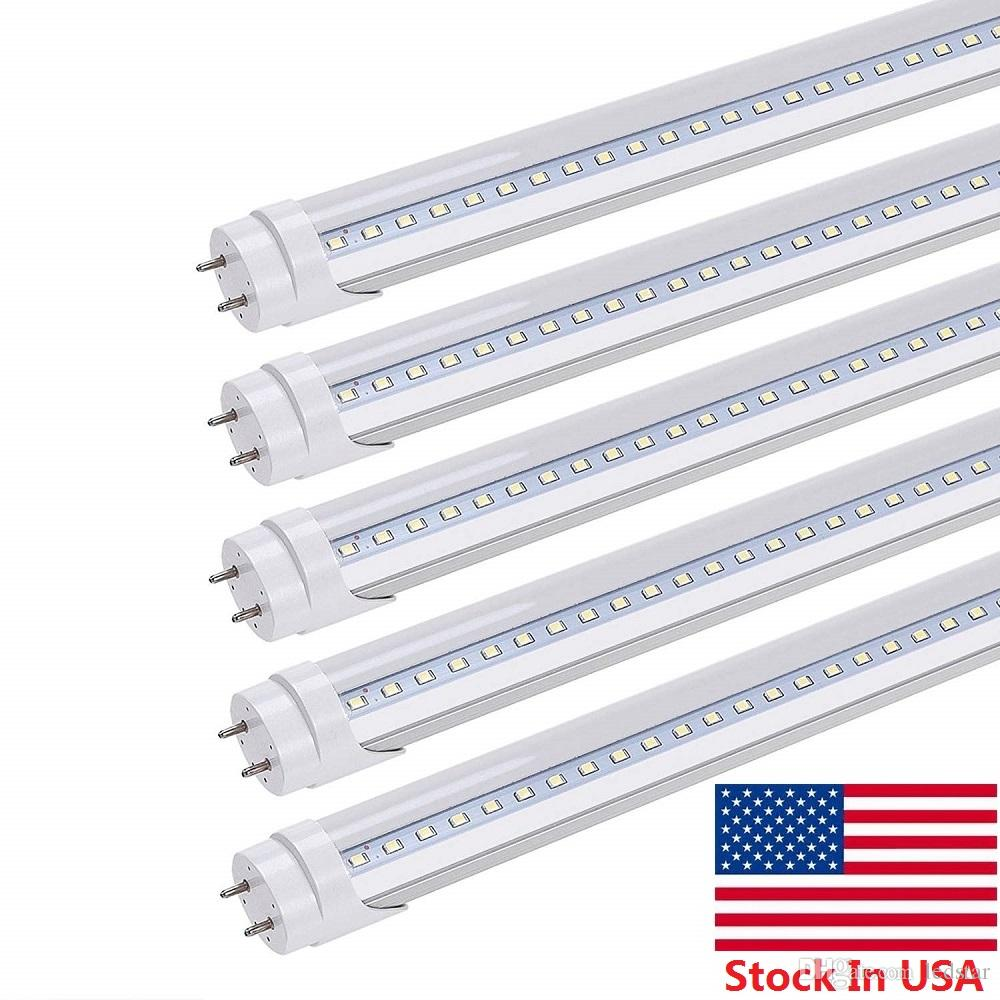 hight resolution of stock in us t8 led light tubes 4ft 22w dual end powered easy ballast removal installation led tubes cold white ac 85 265v