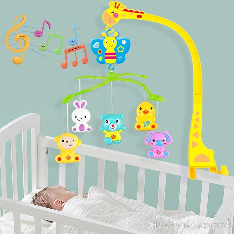 4 in 1musical crib