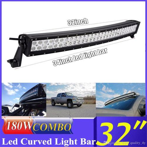 small resolution of car truck parts led light bar 32inch 180w offroad driving marine boat spot flood beam 34 wiring