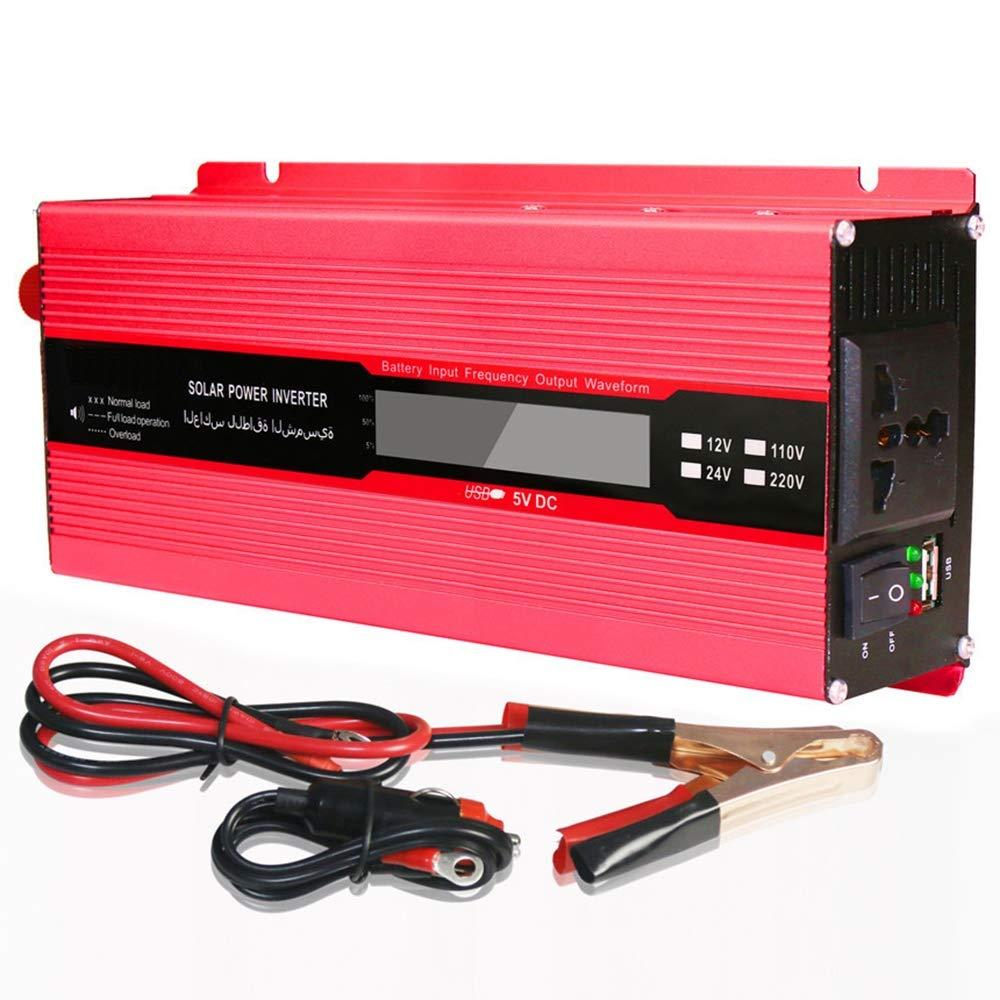 hight resolution of 2000w power inverter dc 12v to ac outlet 220v voltage converter with cigarette lighter adapter in car and crocodile clip for battery 10000 watt inverter