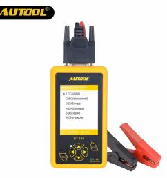 autool bt460 car battery tester 12v 24v heavy duty auto battery test analyzer multi languages vehicle cell testing repair tools diagnostic tool diagnostic  [ 1000 x 1000 Pixel ]