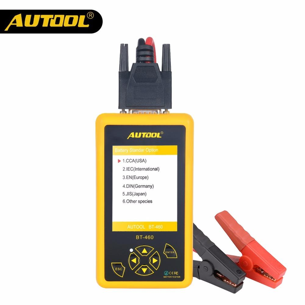 hight resolution of autool bt460 car battery tester 12v 24v heavy duty auto battery test analyzer multi languages vehicle cell testing repair tools diagnostic tool diagnostic