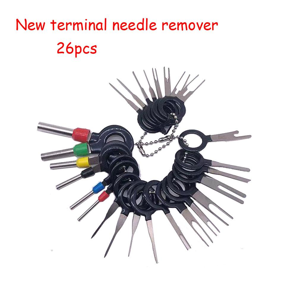 hight resolution of 11 14 18 21 car plug circuit board wire harness terminal extraction disassembled crimp pin back needle remove tool kit computer tools and equipment