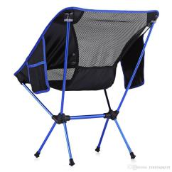 Heavy Duty Folding Chairs Outdoor Black And White Striped Chair Cushions Portable Ultralight For Activities Picnic 600d Oxford Cloth Aluminium Fishing Vb Plastic Camp From