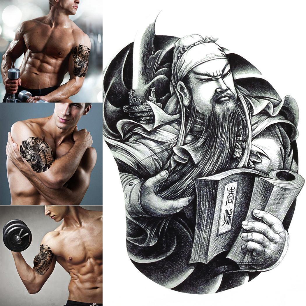 Dibujos Animados De Hombres Unisex Tatuaje De Mujer Para El Pecho