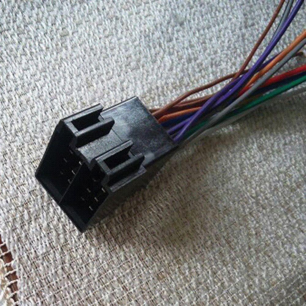 medium resolution of 2019 dewtreetali universal female iso radio wire wiring harness adapter connector car adaptor plug for vw citroen audi passat jetta from xiaolei007