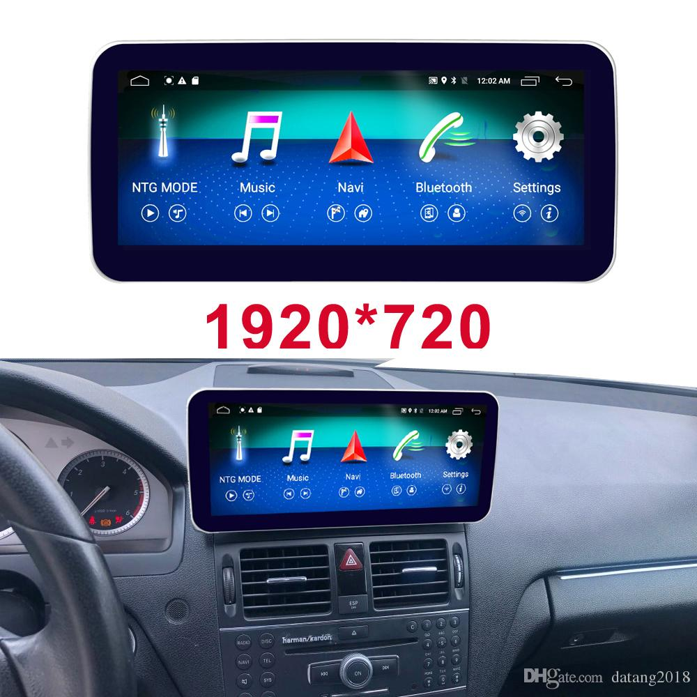 Android 8 1 Display For Mercedes Benz C Class W204 Car