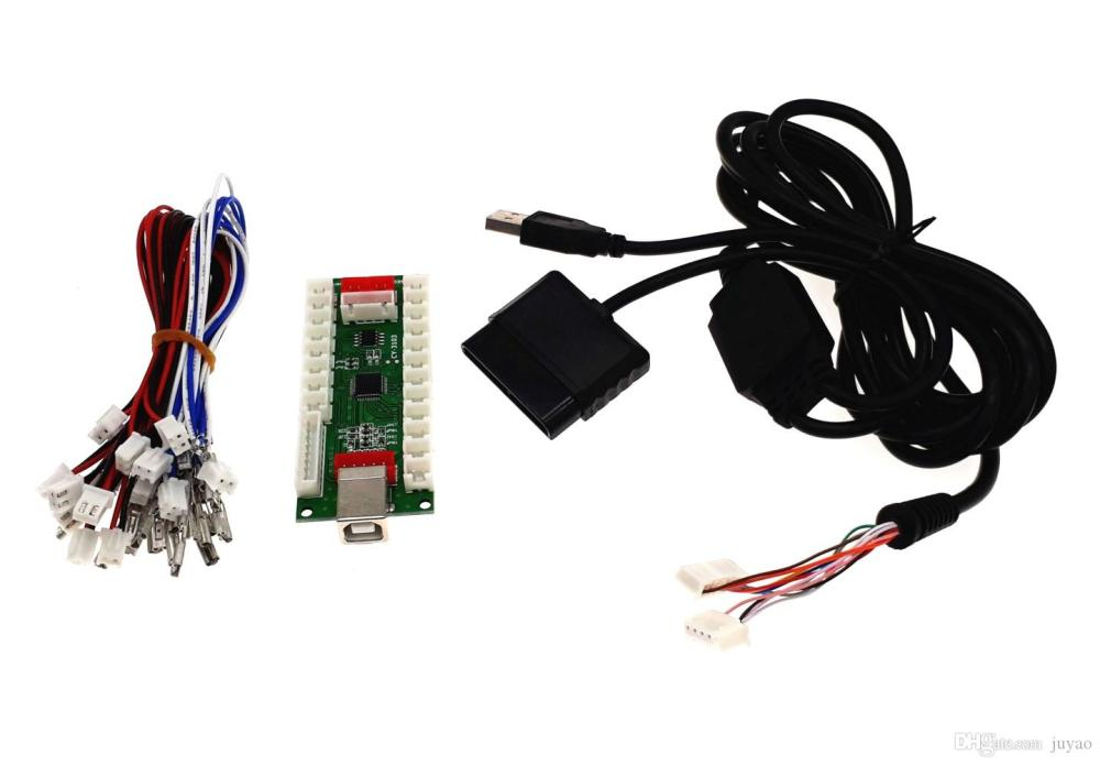 medium resolution of 2019 zero delay arcade controller for pc ps 2 ps 3 3in 1 encoder pc to joystick control panel for mame from juyao 12 68 dhgate com