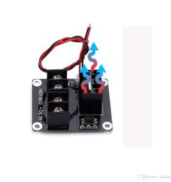 2019 3d printer heated bed power module hotbed mosfet expansion module inc 2pin lead with cable for anet a8 a6 a2 ramps 1 4 from baoletao 6 92 dhgate  [ 1000 x 1000 Pixel ]