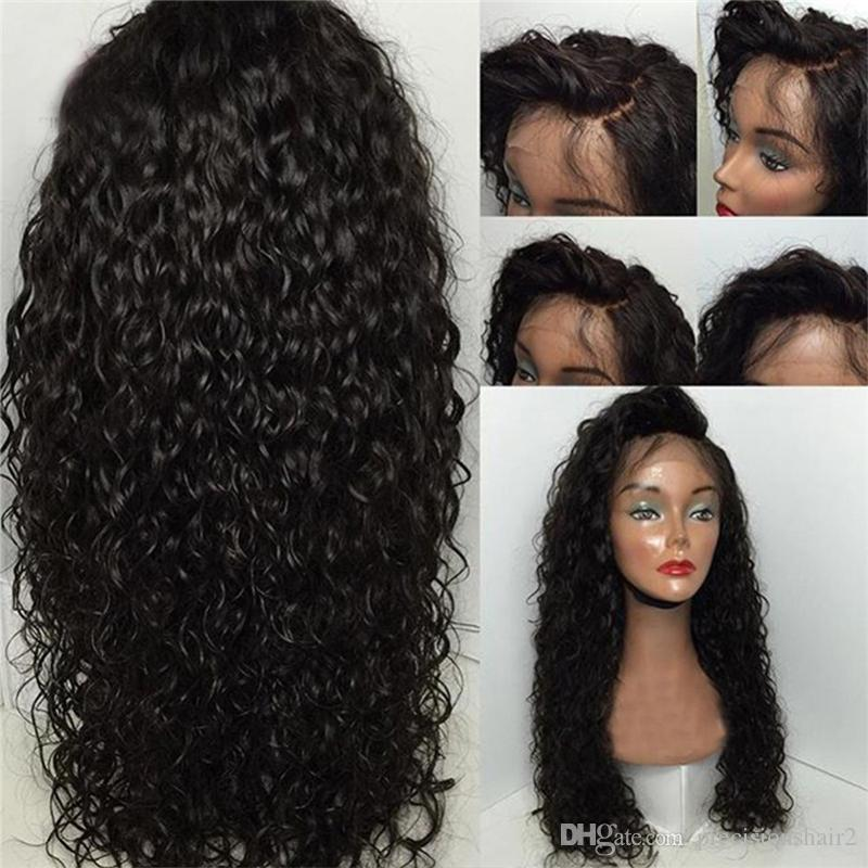 Good Quality Peruvian Virgin Human Hair 150% Density Lace ...