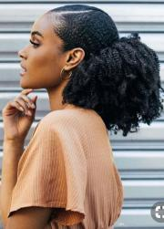 african american natural ponytail