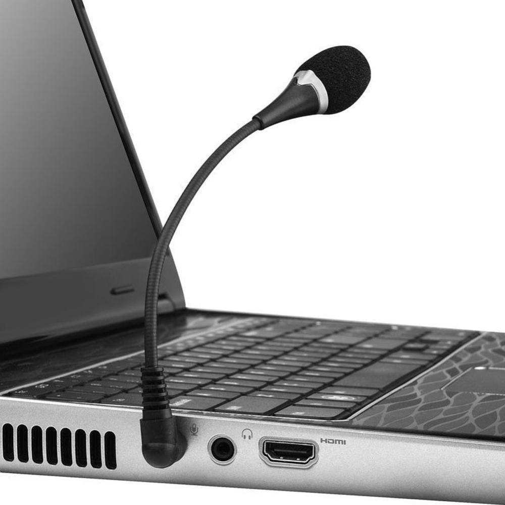 medium resolution of flexible mini 3 5mm jack plug wired audio microphone microfone mic for computer laptop notebook tablet pc skype toy microphone with stand underwater