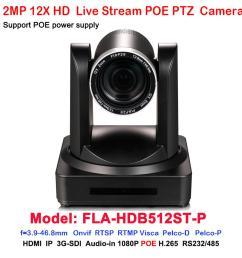 full hd 1080p60fps 3g sdi hdmi ip rj45 network poe video ptz camera 12x optical zoom h 264 h 265 ip camera monitoring ip camera network from athenal  [ 1000 x 1000 Pixel ]