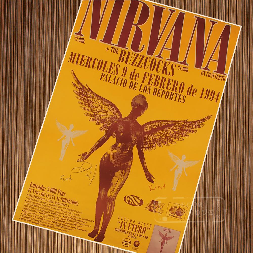 vintage nirvana concert posters