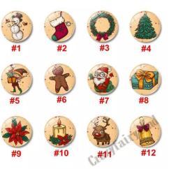 Kitchen Magnets Breakfast Nook Ideas For Small Christmas Fridge Snowman Tree Santa Claus Decor Souvenir Magnetic Sticker Magnet Notes Message Tools