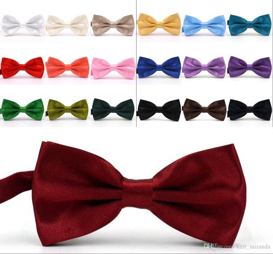 Feste Farben Fliege Für Hochzeiten Mode Mann Und Frau Krawatten Herren Fliege Freizeit Krawatten Bowties Adult Hochzeit Fliege