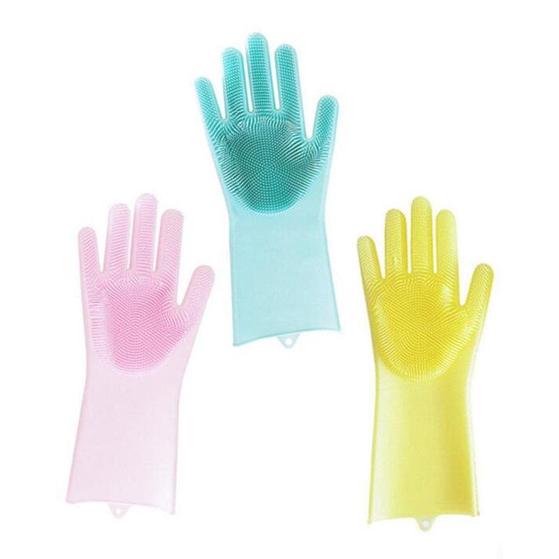 kitchen gloves home depot cabinets in stock silicone dish washing scrubber cleaning glove multipurpose food grade dishwashing dishwasher
