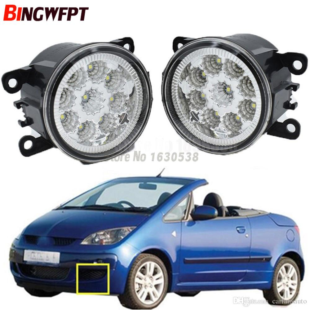 hight resolution of  pair fog lamp assembly super bright led fog light halogen light for mitsubishi colt czc convertible rg 2006 2009 hid light car hid light conversion from