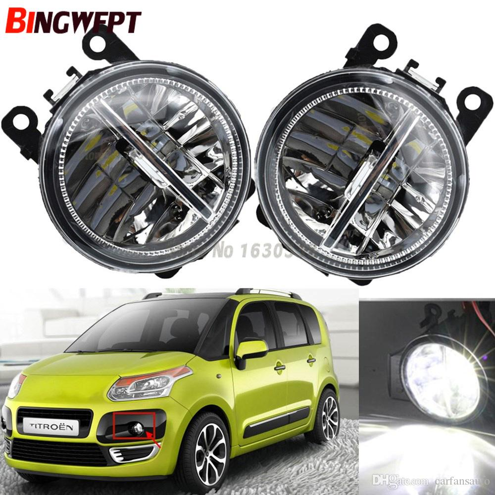 medium resolution of  pair fog lamp assembly super bright led fog light halogen light 55w for citroen c3 picasso 2009 2016 hids light hids lights from carfansauto