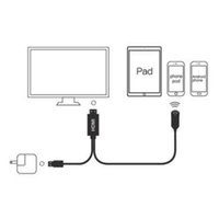 Vga To Hdmi Adapter Convertor Cable Converter With Audio