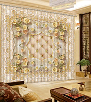 patterned curtains for living room paint colour ideas 2018 wholesale buy cheap online the new euporean pattern luxury