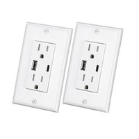 PowerCube Original Dual USB Port 4 Outlets Surge Protector