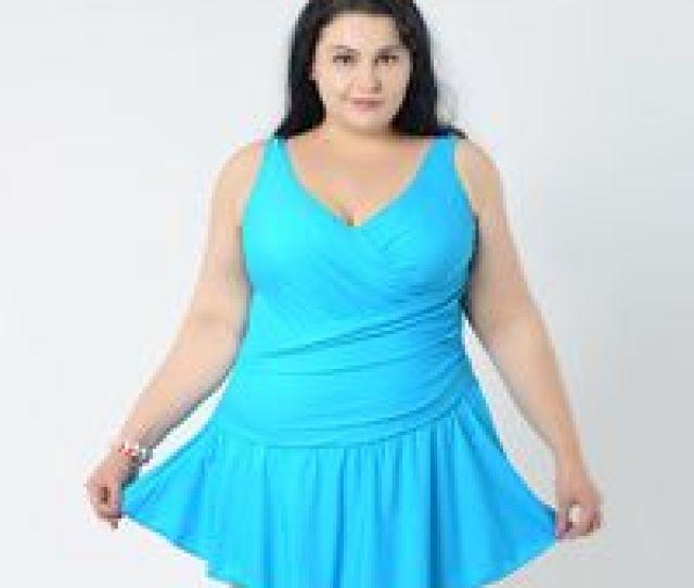 Wholesale Fat Black Girl For Sale  Big Women Summer Dress One Piece Swimsuits Fat