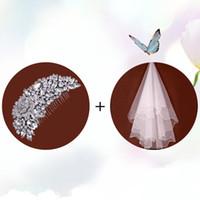 Cheap Hair Combs For Wedding Veils | Free Shipping Hair ...