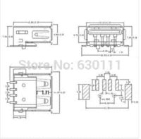 5 Pin Mini Usb Type A Connector, 5, Free Engine Image For