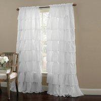Cheap Ruffle Curtain Free Shipping Ruffle Curtain Under 100 On
