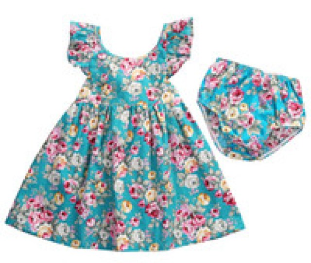 Wholesale Ruffle Girl Boutique Clothing Online Kids Clothing Set Newborn Baby Girls Clothes Summer Girls
