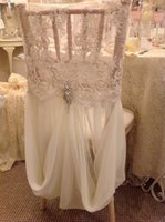 burgundy chair covers wedding dream massage wholesale cover buy cheap online custom made ivory lace chiffon crystal vintage