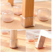 pads for chair legs 3 in one high plans wholesale protectors buy cheap silicone rectangle square round leg caps feet furniture table covers wood floor 1000pcs ooa4877