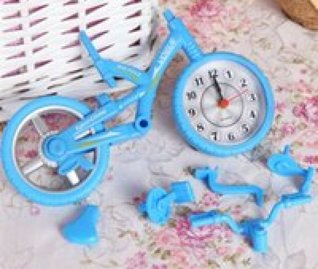 Wholesale Vintage Christmas Ornaments For Sale Bicycle Alarm Clock Photo Frame Vintage Quartz Originality Children