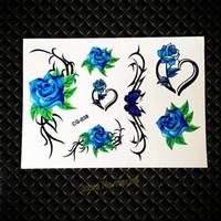 Venta Al Por Mayor De Corazones De Rosas Azules Comprar Corazones