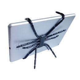 support de tablette araignee support de tablette octopus pour ipad iphone telephone portable pliable montage sur lit velo bureau de voiture hd01