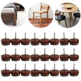 dining room chair leg protectors covers big w discount furniture protector pads 24pcs 20mm round no noise table feet