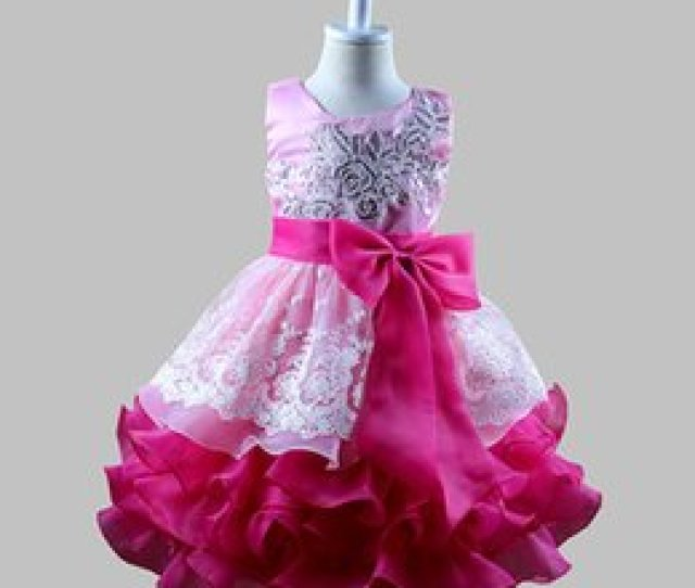 Best Gifts For Girls Embroidery Sequin Lace Flower Dresses Layers Tutu Dress Princess Girls Birthday Party Dance Dress Tulle Dress D Best Birthday Gifts