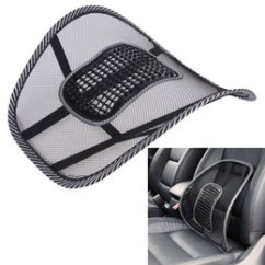 Back Support For Office Chairs Australia Leather Wing Chair Mesh Lumbar New Featured Car Seat Cover Sofa Cool Massage Cushion Waist Brace L Fabric Home