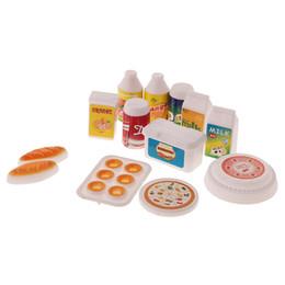 kitchen miniature cabinets houston sets online shopping for sale 12 dollhouse tableware set juice milk drinks