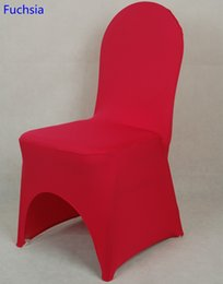 lycra chair covers nz stool with fabric sale buy new online fuchsia colour universal cover for wedding decoration spandex