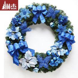 Discount Blue Christmas Wreath Decorations
