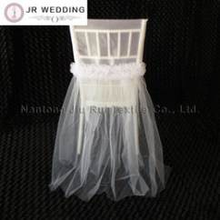 Fancy Chair Covers For Sale White Comfy Online Shopping 50pcs 2style Wedding Dress Organza Cup And Tutu Lace Cap Colorful Chiavari Cover Decora