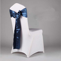 fancy chair covers for sale dental dwg online shopping wholesale colorful satin chairs sash wedding sashes banquet bowknot sofa cover ribbon free shipping