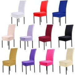 Stretch Dining Chair Covers Uk How To Repair A Lawn Shop Banquet Wholesale Universal Polyester Cover Spandex Elastic Jacquard For Home Wedding Decoration Textiles