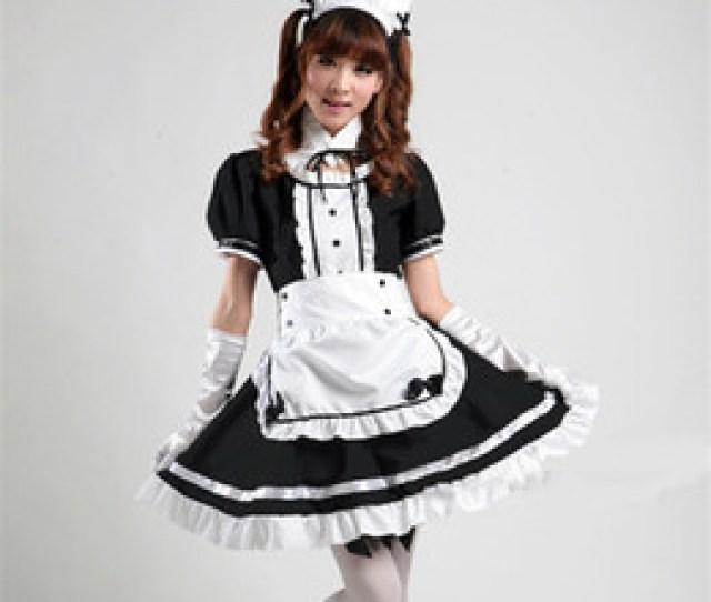 Japan Hot School Girl Nz Wholesale Japan Hot Anime Akihabara Cosplay Maid Costume Cute